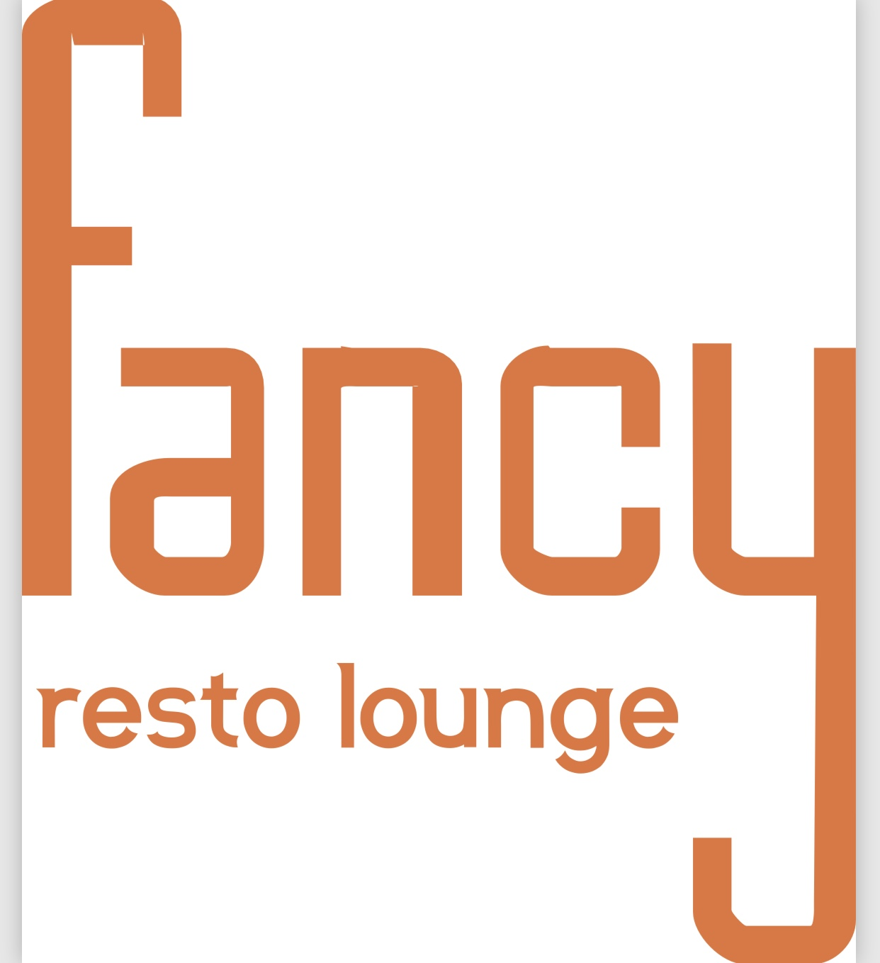 Fancy Resto Lounge